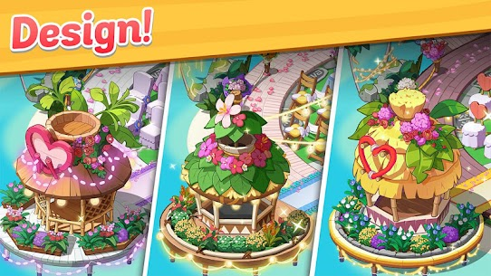 Ohana Island MOD APK 1.5.2 [Menu Mod] Blast flowers and build 3