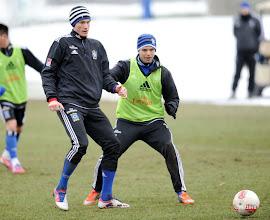 Photo: v.l. Marcell Jansen, Dennis DiekmeierFussball, Hamburger SV, Training