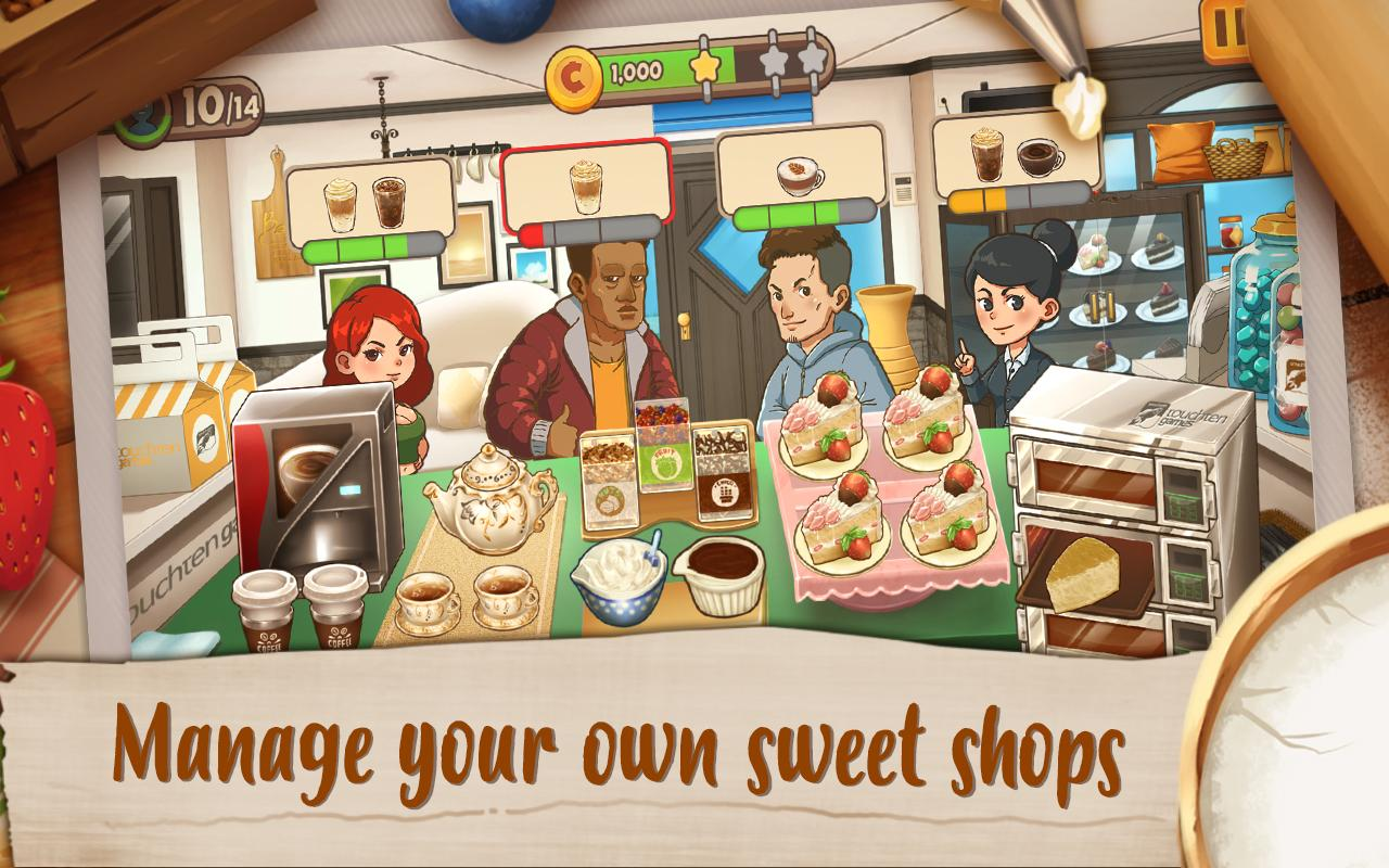 Dessert Chain: Café Waitress Cake Baking & Cooking- screenshot