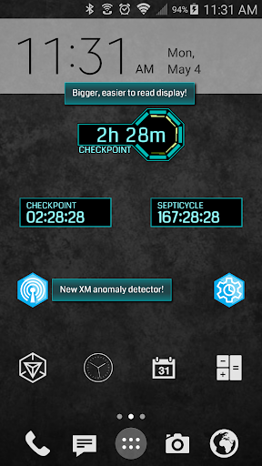 Septicycle Countdown Widgets