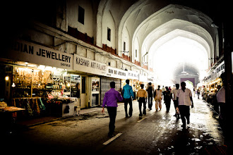 Photo: Entrance to the Red Fort, Delhi, India