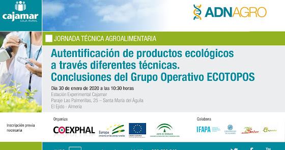 Los productos ecológicos, tema principal de la Jornada Técnica Agroalimentaria