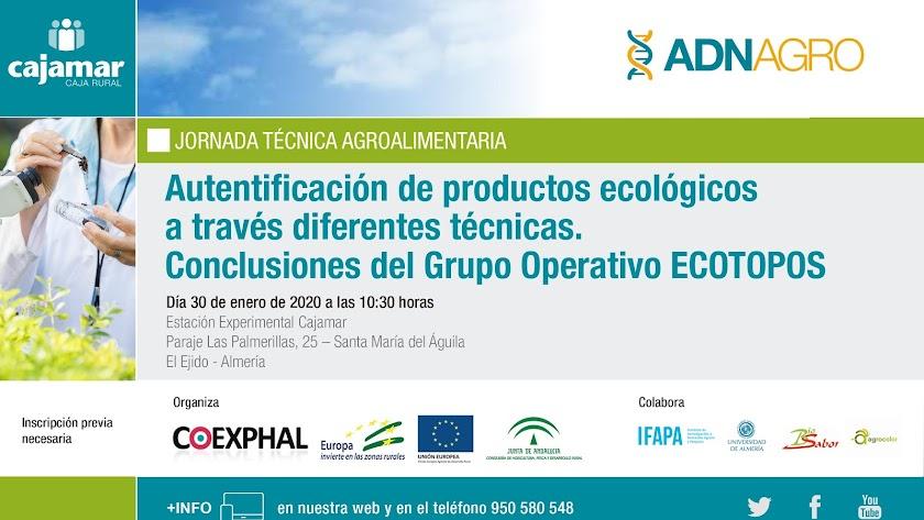 Se trata de una jornada enmarcada en el Grupo Operativo Ecopotos y organizada por Cajamar y Coexphal.