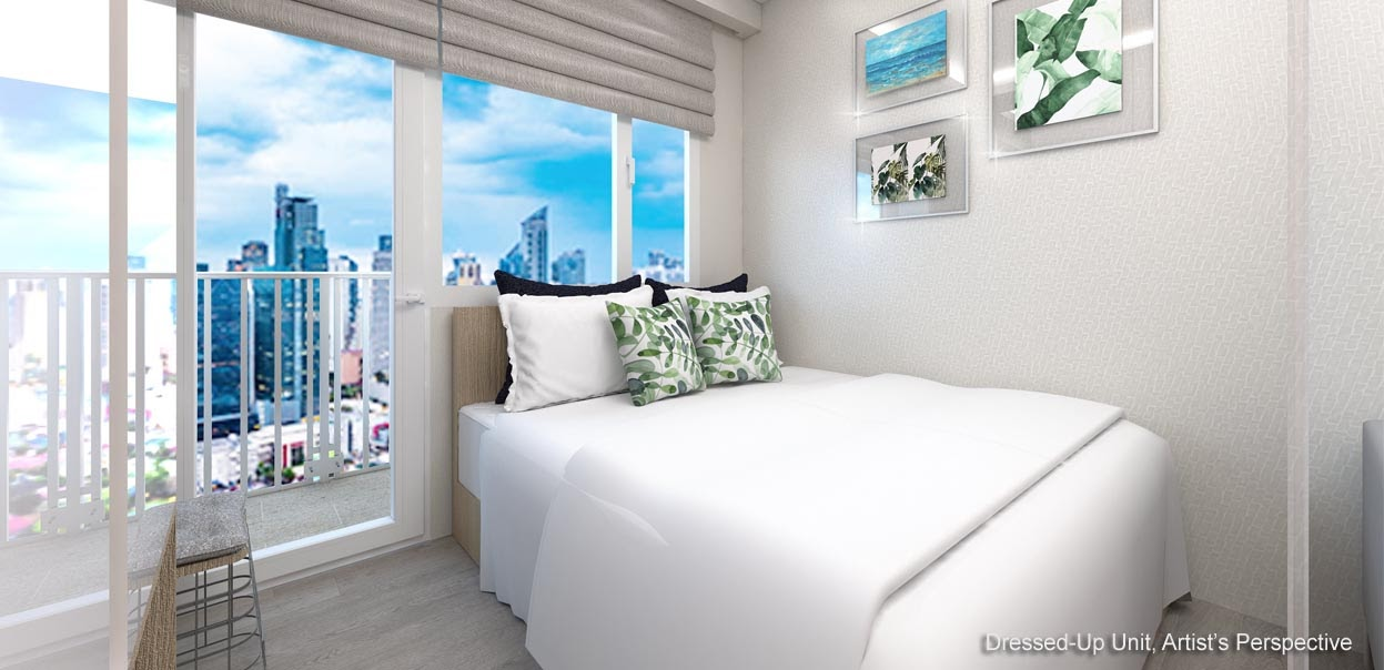 Red Residences, Chino Roces, Makati bedroom