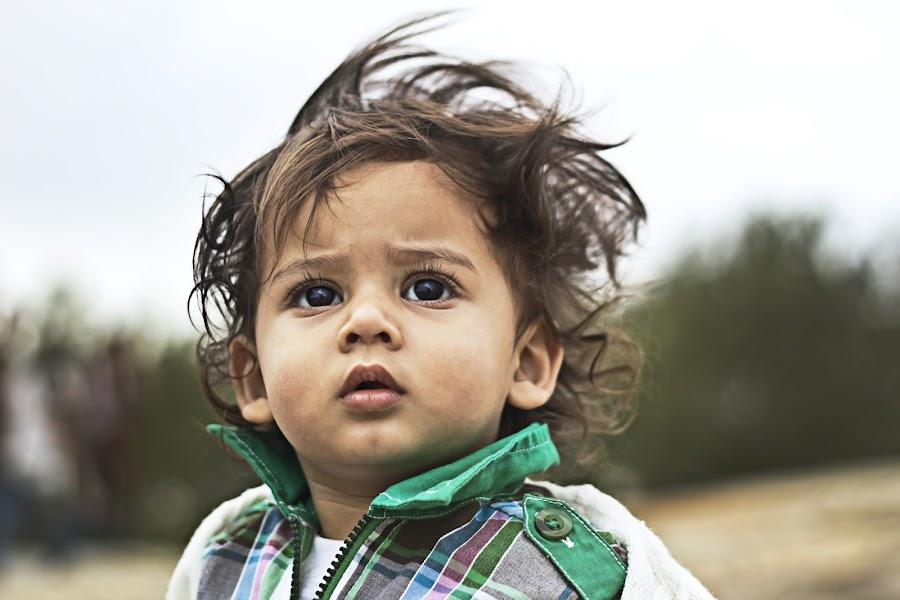 Sunny  by Madhu Babu - Babies & Children Children Candids ( pixato, dream, green, kid, 12, 3, sky, 7, 6, 5, sunny, 4, 2012, hair )