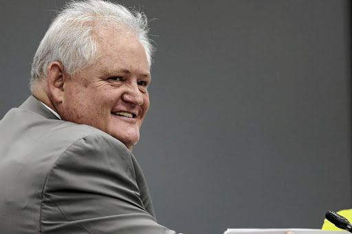 Former Bosasa chief operations officer Angelo Agrizzi testifies before the state capture inquiry sitting in Parktown, Johannesburg.