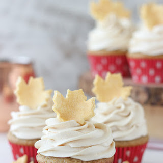 Spiced Cupcakes with Vanilla Buttercream Recipe