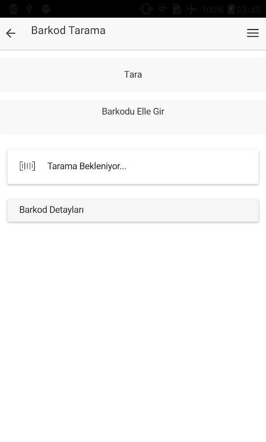 Barkod Okuyucu- screenshot
