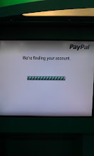 Photo: After entering the PayPal account email address, the kiosk quickly found the account and it's time to add the coins!!
