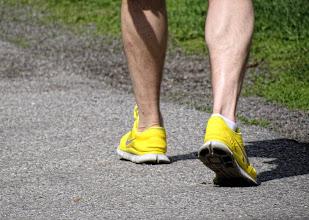 Photo: Där jag går i mina gyllne skor!