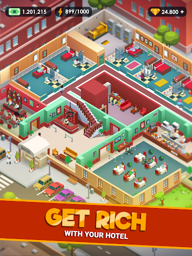 Hotel Empire Tycoon - Idle Game Manager Simulator modavailable screenshots 13