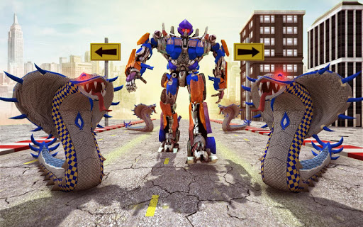 Screenshots von Snake Robot Transform Battle 3