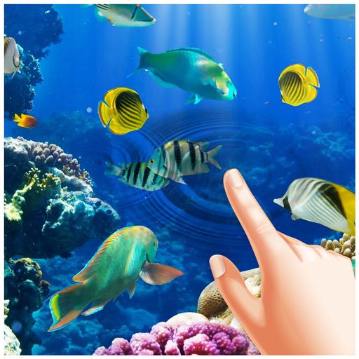 Aquarium Magic Touch Live Wallpaper