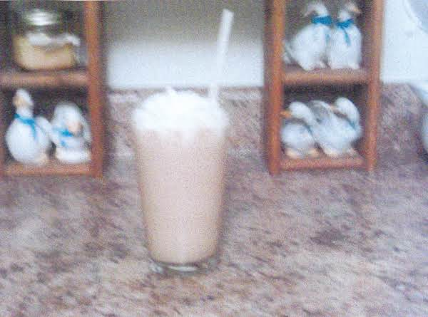 Grace's Cafe' Mocha Milk Shake