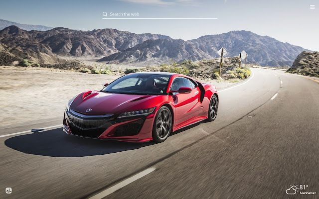 Acura HD Wallpapers New Tab Theme