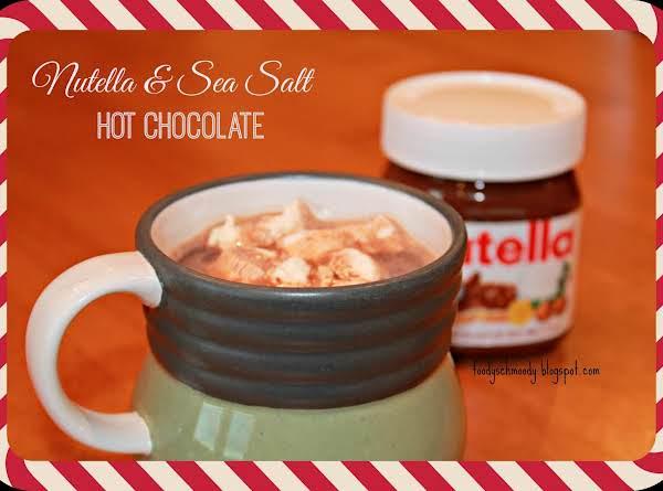 Nutella & Sea Salt Hot Chocolate Recipe