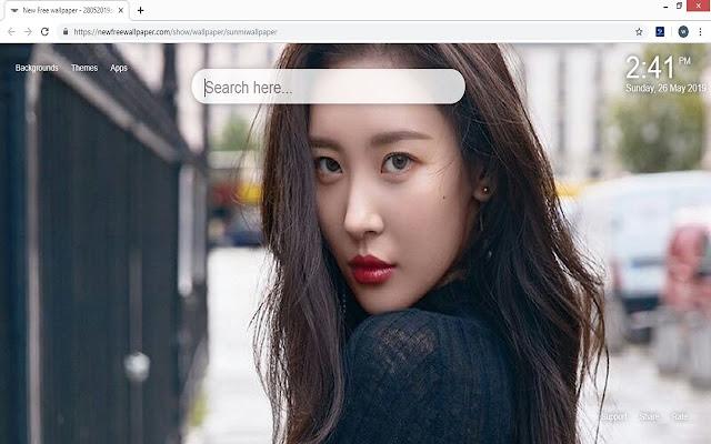Kpop Sunmi HD Wallpapers New Tab Themes