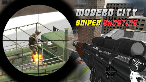 Modern City Sniper Assassin 3D