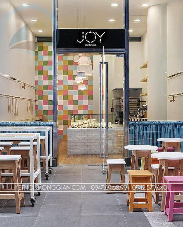 thiết kế cửa hàng bánh ngọt Joy 2