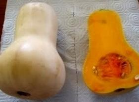 Preheat oven to 375 degree F.  On a sheet pan, place prepared butternut halves, cut...