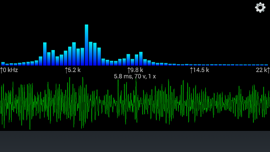 Sound View Spectrum Analyzer- screenshot thumbnail