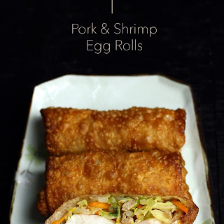 Pork and Shrimp Egg Rolls