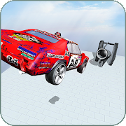 Car Crash Beam Drive: Long Jump Accident Sim