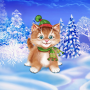 Winter Cat Live Wallpaper‏ APK