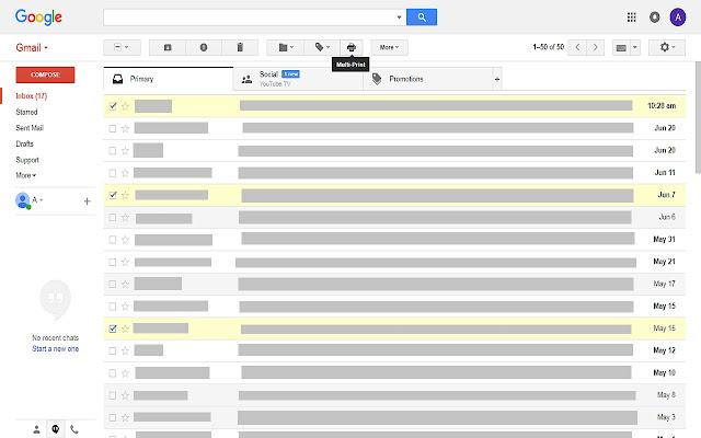 Gmail Multi-Print