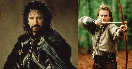 It's been 30 years since Robin Hood: Prince of Thieves was released and movie fans are remembering the brilliance of the late Alan Rickman