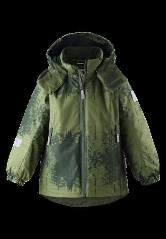 Reimatec Maunu 521617B-8948 Dark Green vinterjakke