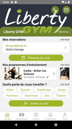 Liberty GYM France  screenshots 1