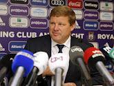 """Hein veut refaire d'Anderlecht un rouleau compresseur: """"Ça doit être fini les petites équipes qui pensent venir gagner ici"""""""