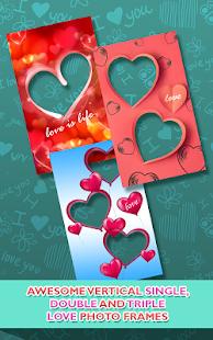 Love Photo frames Collage - náhled