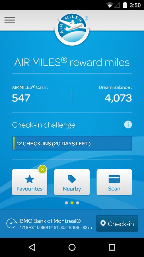 AIR MILES® Reward Program - screenshot