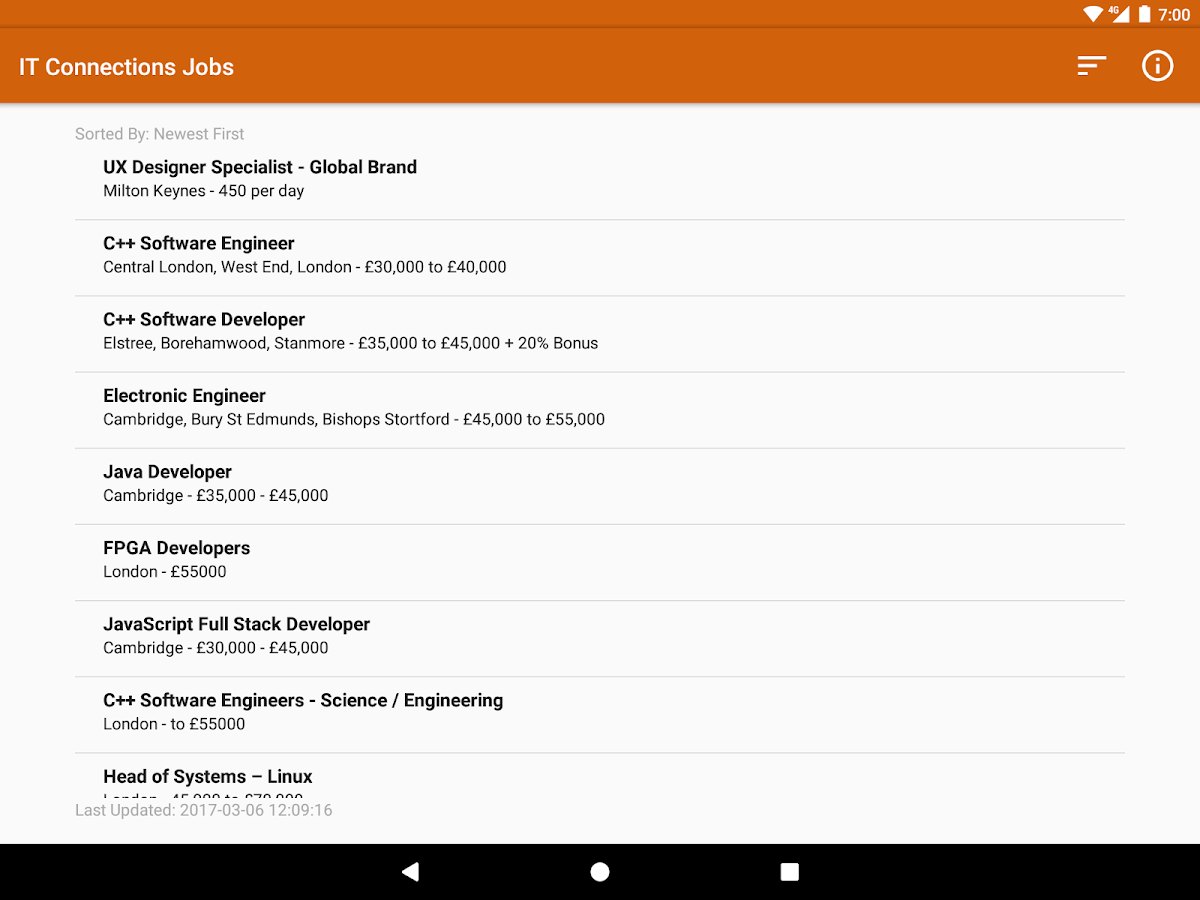 IT Connections Jobs- screenshot