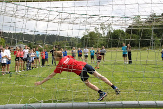 Photo: penalty trappen.