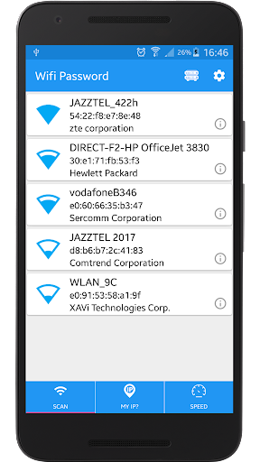 Free Wifi Password Scan 3.0.1.5.0 screenshots 1