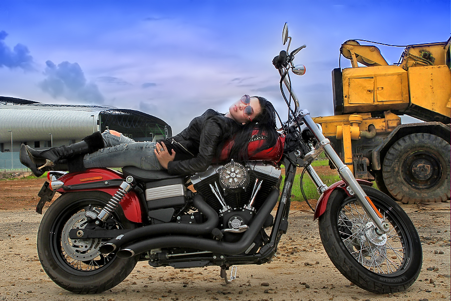 HARLEY DAVIDSON by Gunawan Qiu - Transportation Motorcycles