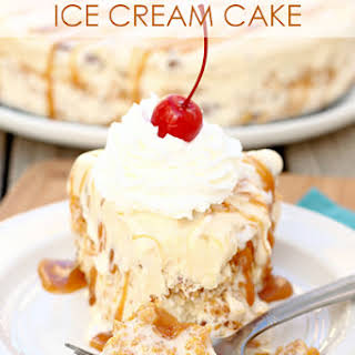 Not Fried Ice Cream Cake.