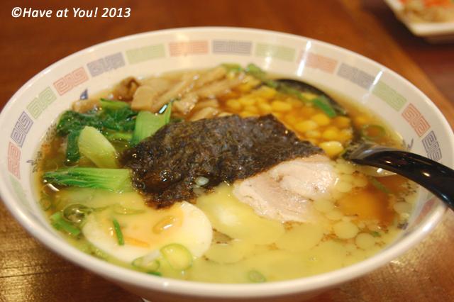 Sapporo Corn Ramen