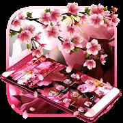 Pink Cherry Blossom Theme APK for Bluestacks