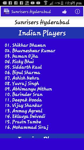 IPL 2018 Schedule 1.5 screenshots 6