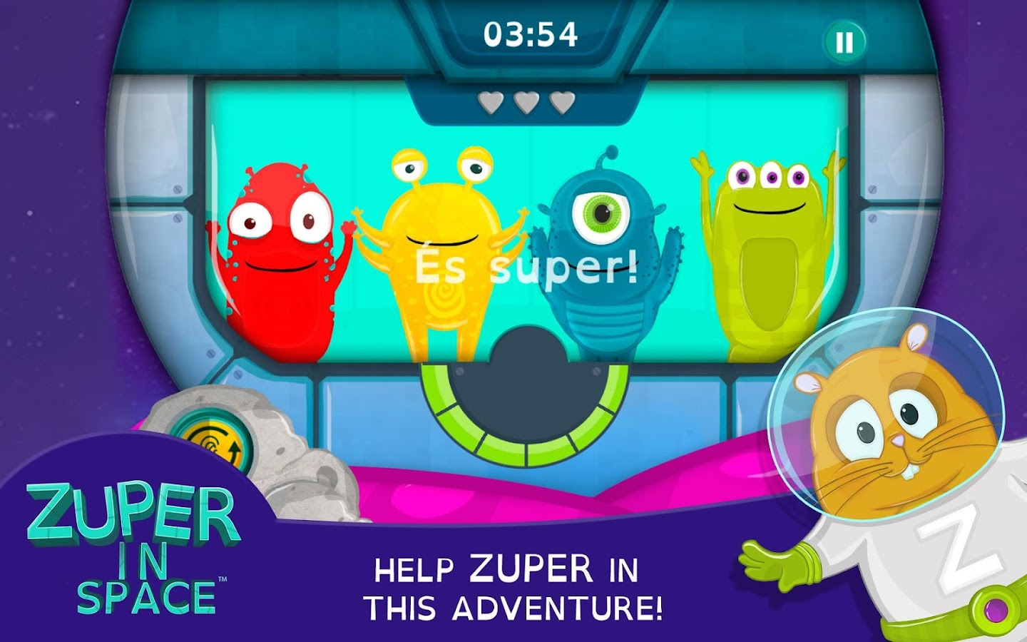 ZUPER IN SPACE- screenshot