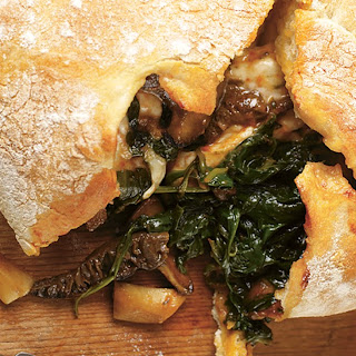 Easy Mushroom & Spinach Pizza Calzone Recipe | Jamie Oliver Recipe