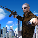 American Real Gangster War 3D icon