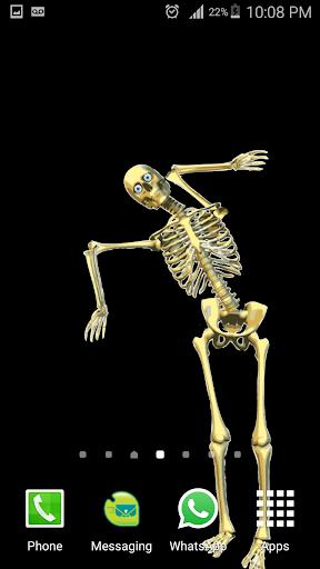 Skeleton Live wallpaper 1 screenshots 3