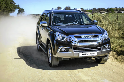 The Isuzu MU-X proved to be comfortable on and off-road. Picture: ISUZU MOTORS SA