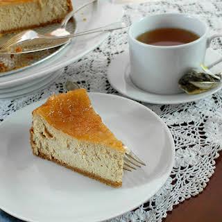 Cinnamon Buttermilk Cheesecake.