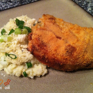 Parmesan-Dijon Crusted Pork Chops